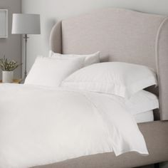 200 Thread Count Egyptian Cotton Bed Linen from The White Company. DOUBLE & STANDARD. #WhiteChristmasWishList