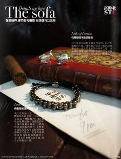 Beautiful cufflinks and bracelet from Links of london  http://www.linksoflondon.com
