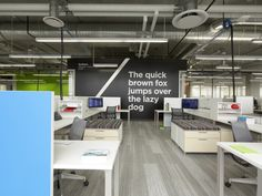 "Do you work in a fun,cool office space or just ""Office Space""?"