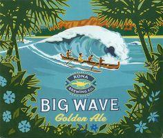 Aloha Series 2 Photograph by Cheryl Young - Aloha Series 2 Fine Art Prints and Posters for Sale Kona Brewing, Cornhole Designs, Tiki Art, Kona Hawaii, Hawaiian Art, Frat Coolers, Wave Art, Tropical Art, Big Waves