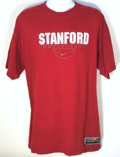 Nike Elite Stanford Basketball Team XXL Cardinal T-Shirt NCAA Sports Apparel  http://cgi.ebay.com/ws/eBayISAPI.dll?ViewItem=321198762747