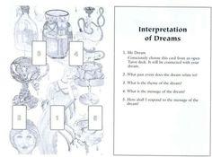 Tarot card dream interpretation spread