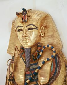 Innermost coffin of the Pharaoh Tutankhamun.