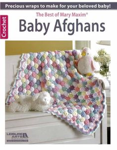 """Maggie's Crochet · The Best of Mary Maxim Baby Afghans Book. Love the one on the cover, wonder if there's a single pattern anywhere for that, the rest are just """"meh"""""""