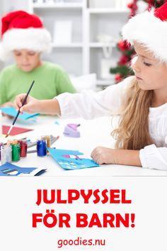 Julpyssel för barn. Ladda ner och skriv ut och pyssla på bara. #pyssel #gratis #julpyssel Goodies, Engagement, Sweet Like Candy, Treats, Gummi Candy, Sweets, Engagements