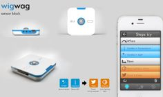 WigWag -- home automation. Features integration with existing smart devices (i.e. Philips Hue lights) and has it's own set of sensors to control other things. Includes IFTTT-style rules for smart interactions.