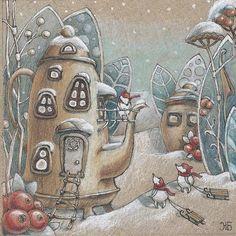Мышиные радости от @jevgenijabazenova Спасибо за хэштег! #арт #рисунок #иллюстрация