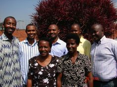 The incredible staff of The PEACE Plan in Rwanda.