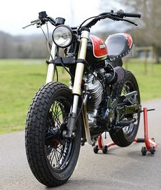pinterest.com/fra411 #Honda 650 Vigor Street Tracker by Redmax Speed Shop