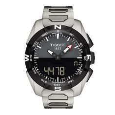 371bb5eb757 Tissot T-Touch Expert Solar 45mm Mens Watch T091.420.44.081.00 Iwc