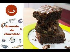 Receta de Brownies de chocolate con nueces. Forma clásica y fácil.