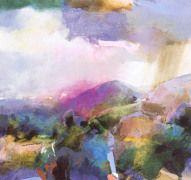 Artist Research - David Prentice. - Landscape.