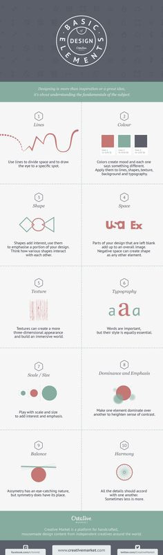 Any good craft needs a toolbox. If you're a designer, your toolbox is style, which unfortunately you can't put into organized drawers. This graphic, however, lays out your basic tools as a designer.