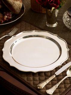 Ralph Lauren Home  Coleford Baroque Charger - serveware