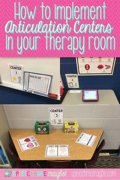 Check out my LATEST blog post about how to create articulation centers in your therapy room. While you're there, don't forget to subscribe so you can stay up-to-date with all of my latest posts!
