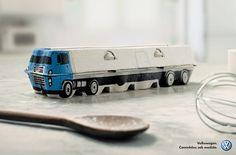 Volkswagen. Caminhões sob medida. (Ovo) | Clube de Criação
