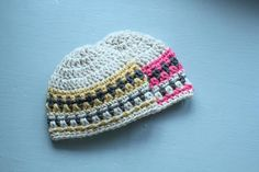 Crochet Hat Pattern Galilee Hat Pattern Newborn to by Mamachee