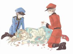 Heart no Kuni no Alice (Alice In The Country Of Hearts) Image - Zerochan Anime Image Board Alice Anime, Peter White, Traditional Stories, Heart Images, Rabbit Ears, Bungo Stray Dogs, Manga Art, Anime Couples, Alice In Wonderland