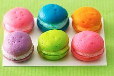 Macaroon cupcakes :)