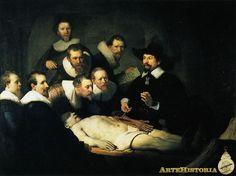 Lección de anatomía del Doctor Tulp, de Rembrandt