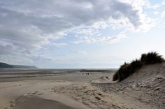 Barmouth beach is the local spot for beach lovers that stay with us at Farchynys Hall, Wales, by Gloria Hansen