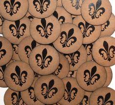 Stickers Vintage Style Envelope Seals French Fleur de by bljgraves, $5.00