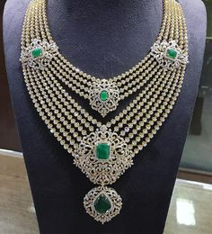Diamond Necklace Sets In Gold; Gold Jewellery Online On Emi once Jewellery Exchange Manchester down Diamond Necklace Nepal - Round Set Diamond Necklace Diamond Necklace Set, Diamond Choker, Diamond Pendant, Diamond Jewelry, Silver Jewelry, Emerald Necklace, Pearl Pendant, Gold Necklace, Jewlery