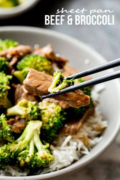 Sheet pan beef and broccoli: Don't you know that beef and broccoli is all about the sauce? This killer recipe for beef and broccoli is cooked on a single sheet pan in the oven so you don't have to stand over or monitor a wok. And it is absolutely delicious. A decadent sauce, tender beef,...Read More »