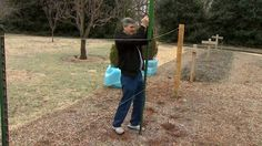 Building a Grape Trellis, via YouTube. (..grow your own vines .. be more self-sufficient and get healthier.)