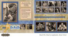 Stamping Rules!: Studio J Layout for Father's Day