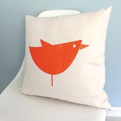 Funda de almohada de aves