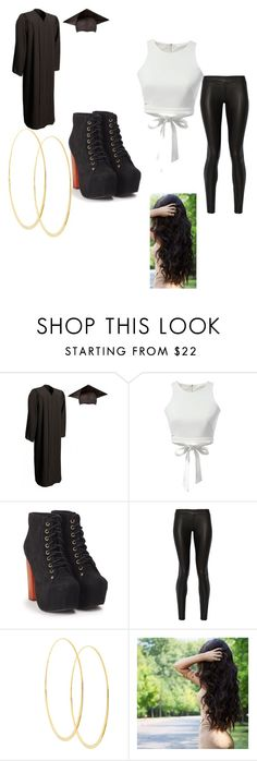 """""""Graduation"""" by juliodauntless on Polyvore featuring Jeffrey Campbell, The Row and Lana"""
