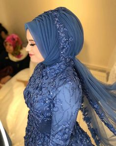 Muslimah Wedding Dress, Muslim Wedding Dresses, Muslim Brides, Muslim Dress, Dress Wedding, Bridal Hijab, Wedding Hijab, Most Beautiful Dresses, Beautiful Hijab
