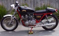 1970 Suzuki GS750 Cafe Racer