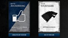 HBO is drumming up more buzz for Game of Thrones season 3 with a tool that lets you build a coat of arms, complete with original house name, sigil and motto.