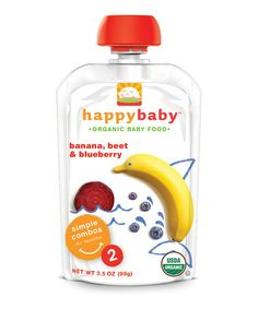 Take a look at this Stage 2 Bananas, Beet & Blueberry Organic Baby Food - Set of 16 by Happy Family on @zulily today!