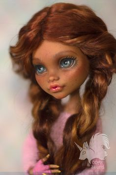 Peaches | OOAK Monster High Clawdeen Wolf | by skiurid_b