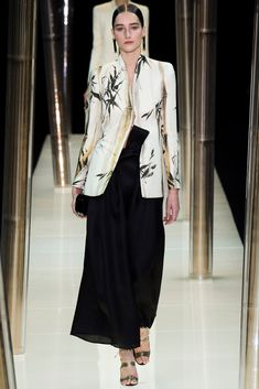 Armani Privé - Spring 2015 Couture - Look 1 of 69