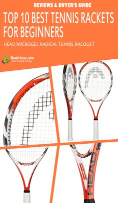 Best Tennis Rackets for Beginners Ultimate List (March) Best Tennis Rackets, Head Tennis, Muscle Power, World Of Sports, Buyers Guide, Golf, Sporty, Female, Fitness