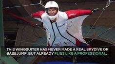 Indoor Wingsuit Flying just announced Wingsuit Flying, Skydiving, Galaxy, Samsung, Indoor, Iphone, Abstract, Places, Happy