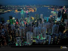 Take a trip to Hong Kong where it is very beautiful.. just the buildings remind me of New York City.