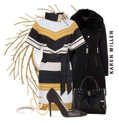 KAREN MILLEN by arjanadesign on Polyvore featuring polyvore fashion style Karen Millen