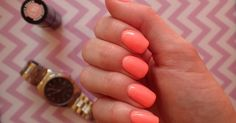 Love Chevron: Manicure hybrydowy Semilac Juicy Peach 101 Chevron Manicure, Nail Colors, Peach, Nails, Colors, Finger Nails, Ongles, Peaches, Nail