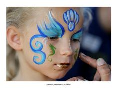 mermaid face paint - Hobbies paining body for kids and adult Girl Face Painting, Face Painting Designs, Painting For Kids, Body Painting, Face Paintings, Mermaid Face Paint, Mermaid Makeup, Knysna, Tattoo Kind