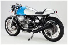Moto Guzzi Cafe Racer - 'Kaffeemaschine5'   I likes the tail section