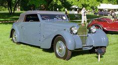 1934 Bugatti Type 57 Convertible