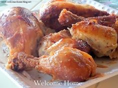 Welcome Home: Orange Roasted Chicken
