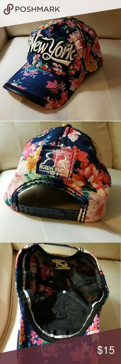 f8182eadd63 Robin Ruth Snapback EUC. WORN ONCE FOR THE DAY. Floral design. Snapback