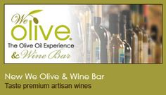 Great olive oil store in Walnut Creek. They have a wide selection of oils, spices and even soaps, etc. They also always have delicious samples, including brownies. Wine Recipes, Gourmet Recipes, Olive Oil Store, Fig Balsamic Vinegar, Site Shopping, Olive Wine, Walnut Creek, Olive Oil Bottles, La Jolla