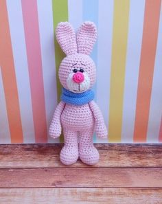 Amigurumi Pink Bunny-Free Pattern, not in English